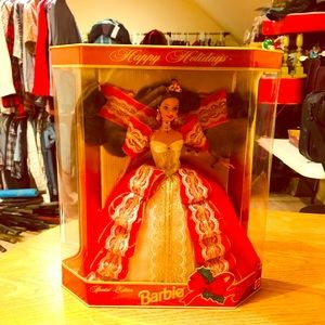 Happy Holiday Barbie 1997 Series 5 Special Edition